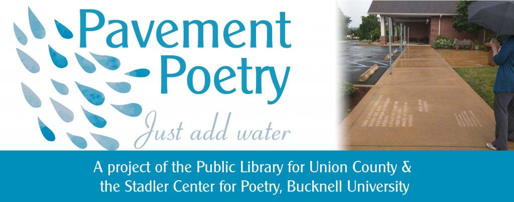 Pavement Poetry 3